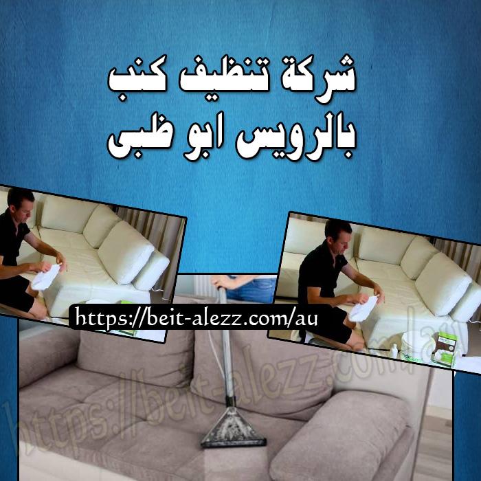 شركة تنظيف كنب بالرويس ابو ظبي