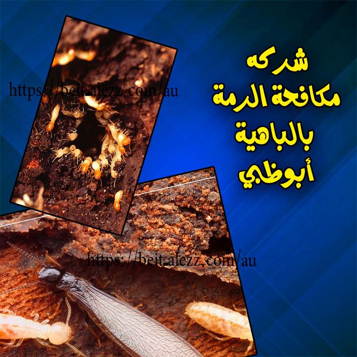 شركة مكافحة الرمة بالباهية ابو ظبي